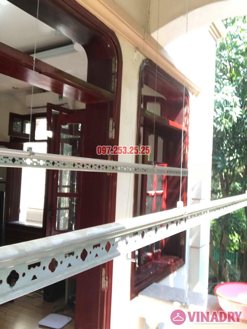 Sửa giàn phơi quần áo thông minh nhà chú Hạnh, số 31 biệt thự BT2 bán đảo Linh Đàm - 05