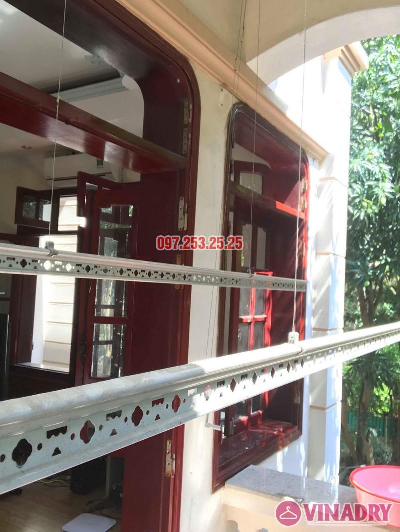 Sửa giàn phơi quần áo thông minh nhà chú Hạnh, số 31 biệt thự BT2 bán đảo Linh Đàm - 06