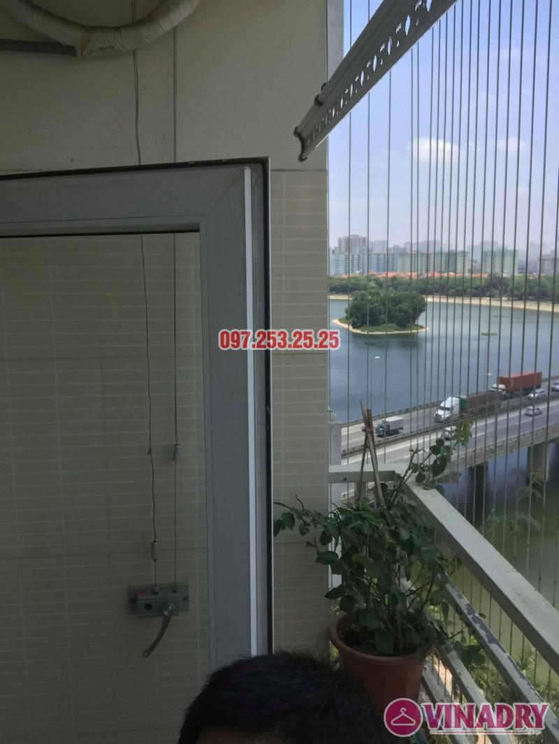 Sửa chữa giàn phơi thông minh nhà anh Mười, chung cư VP6 Linh Đàm, Hoàng Mai, Hà Nội - 06