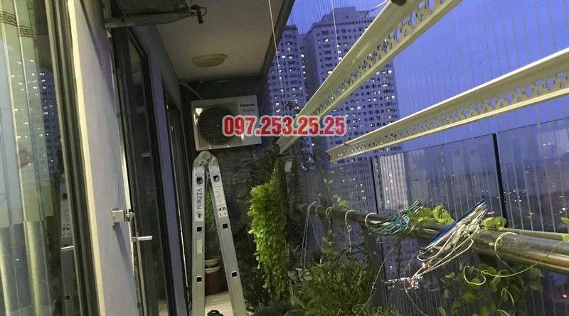 sua-gian-phoi-linh-damSửa giàn phơi quần áo nhà anh Mạnh, chung cư CT2, KĐT Tây Nam Linh Đàm, Hoàng Mai, Hà Nội - 06