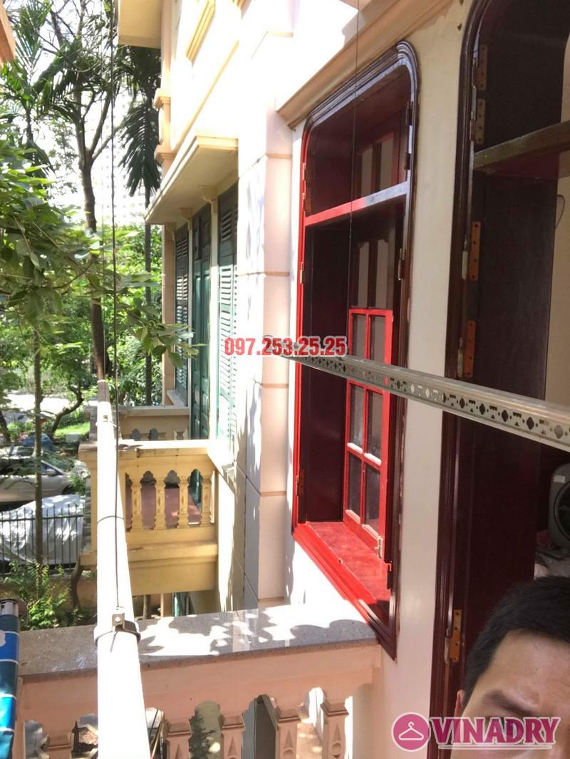 Sửa giàn phơi quần áo thông minh nhà chú Hạnh, số 31 biệt thự BT2 bán đảo Linh Đàm - 07