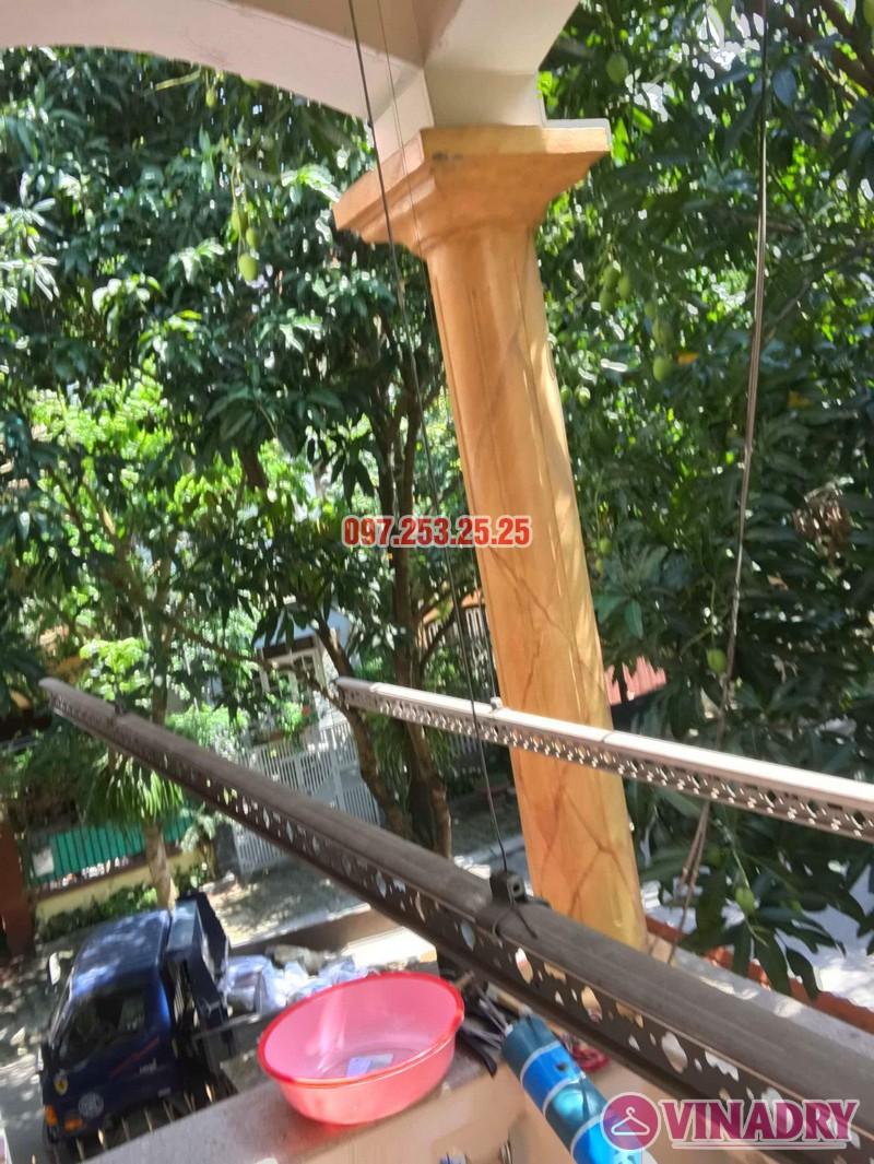 Sửa giàn phơi quần áo thông minh nhà chú Hạnh, số 31 biệt thự BT2 bán đảo Linh Đàm - 08