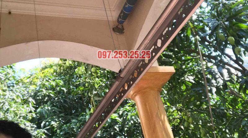 Sửa giàn phơi quần áo thông minh nhà chú Hạnh, số 31 biệt thự BT2 bán đảo Linh Đàm - 09