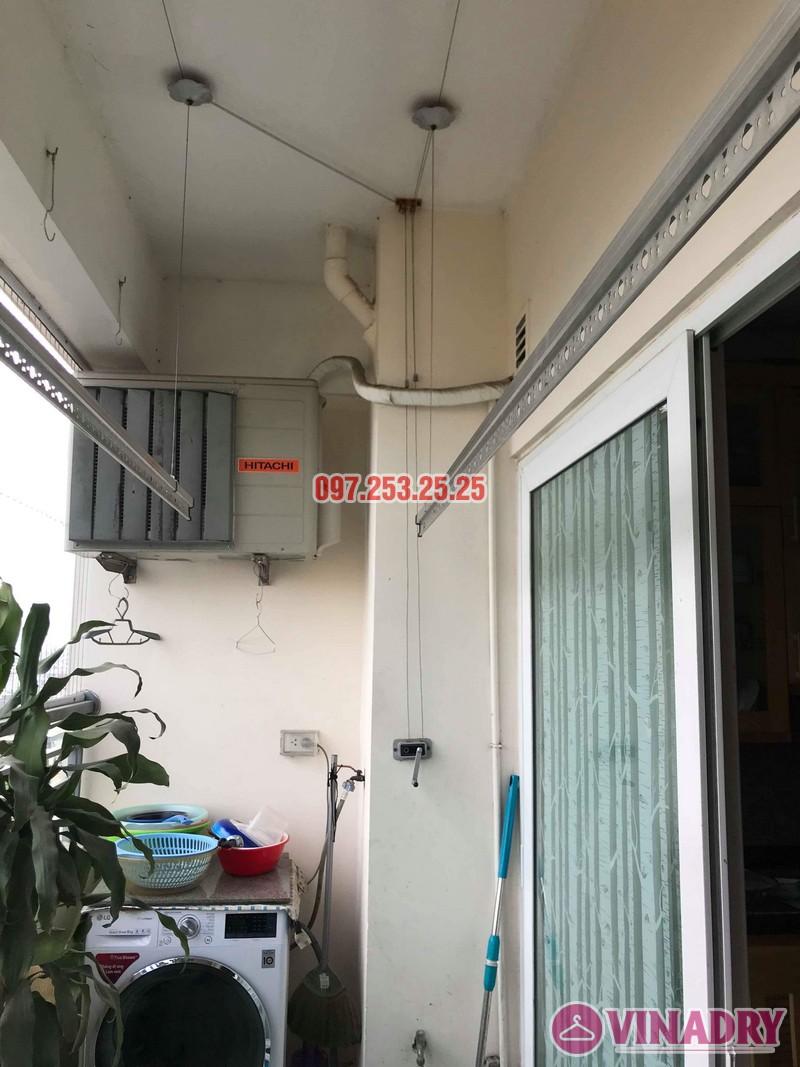 Sửa giàn phơi giá rẻ nhà chị Bình, chung cư CT1 Nam Đô, Hoàng Mai, Hà Nội - 02