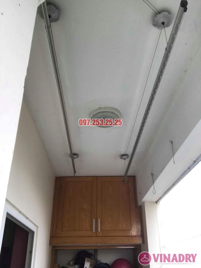 Sửa giàn phơi giá rẻ nhà chị Bình, chung cư CT1 Nam Đô, Hoàng Mai, Hà Nội - 05