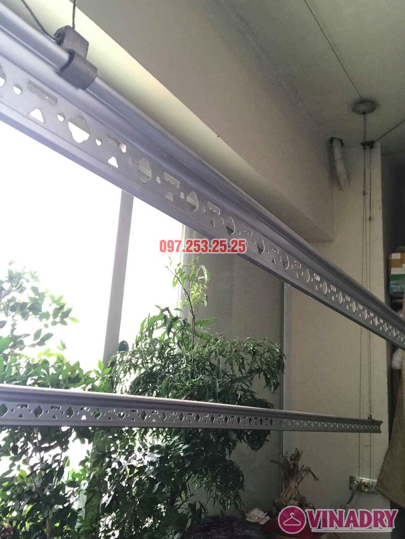 Sửa giàn phơi thông minh Hà Đông nhà chị Vy, chung cư Nam Xa La - 05