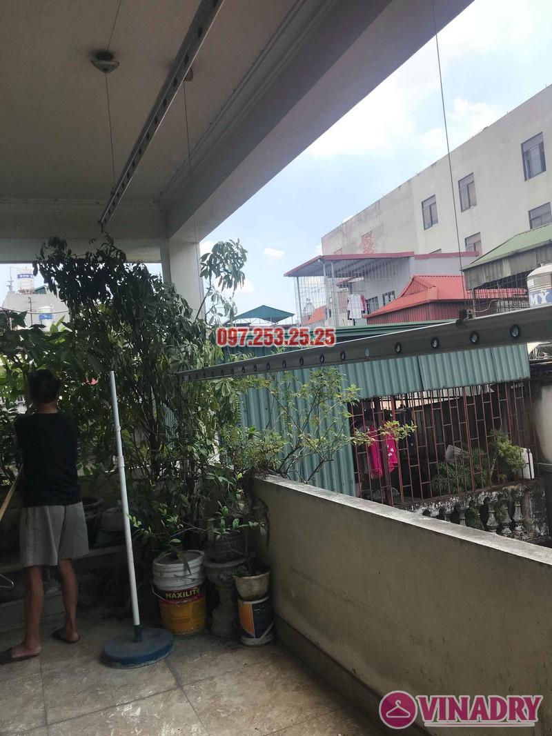 Sửa giàn phơi thông minh nhà anh Linh, 60 Ngọc Hà, Ba Đình, Hà Nội - 02