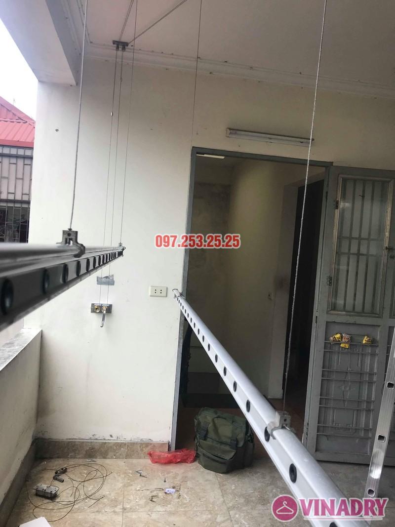 Sửa giàn phơi thông minh nhà anh Linh, 60 Ngọc Hà, Ba Đình, Hà Nội - 05