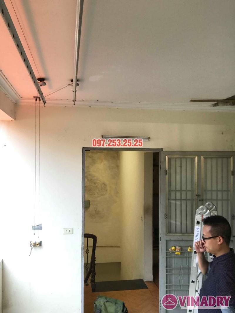Sửa giàn phơi thông minh nhà anh Linh, 60 Ngọc Hà, Ba Đình, Hà Nội - 08