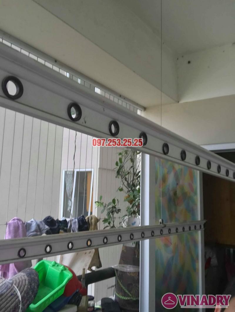 Sửa giàn phơi quần áo tại nhà: Sửa giàn phơi nhà chị Hạnh, chung cư Sài Đồng Lake View - 05
