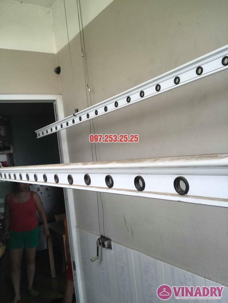 Sửa giàn phơi quần áo tại nhà: Sửa giàn phơi nhà chị Hạnh, chung cư Sài Đồng Lake View - 07