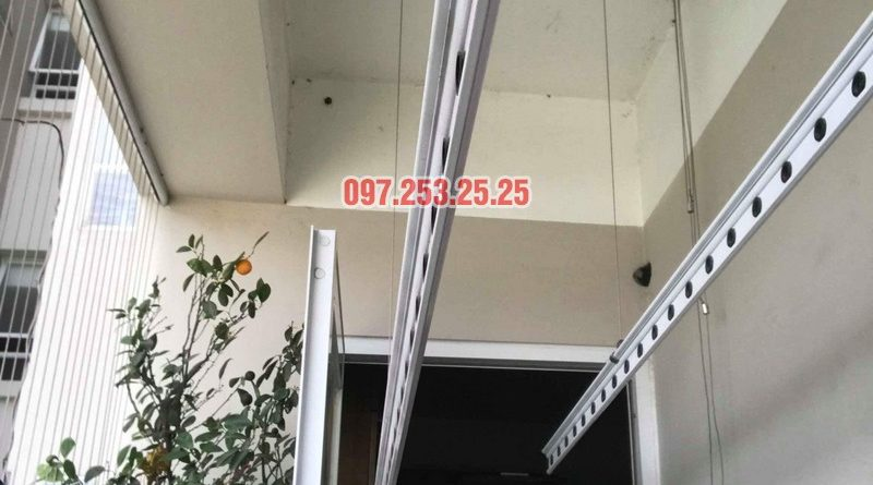Sửa giàn phơi quần áo tại nhà: Sửa giàn phơi nhà chị Hạnh, chung cư Sài Đồng Lake View - 08