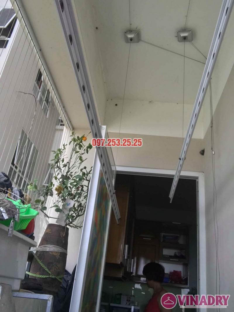 Sửa giàn phơi quần áo tại nhà: Sửa giàn phơi nhà chị Hạnh, chung cư Sài Đồng Lake View - 09