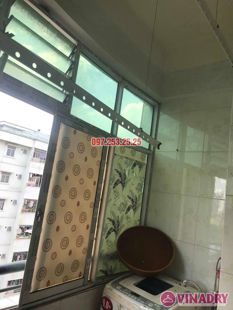 Sửa giàn phơi thông minh tại Hoàng Mai nhà anh Chinh, nhà N6, chung cư Đồng Tàu - 01