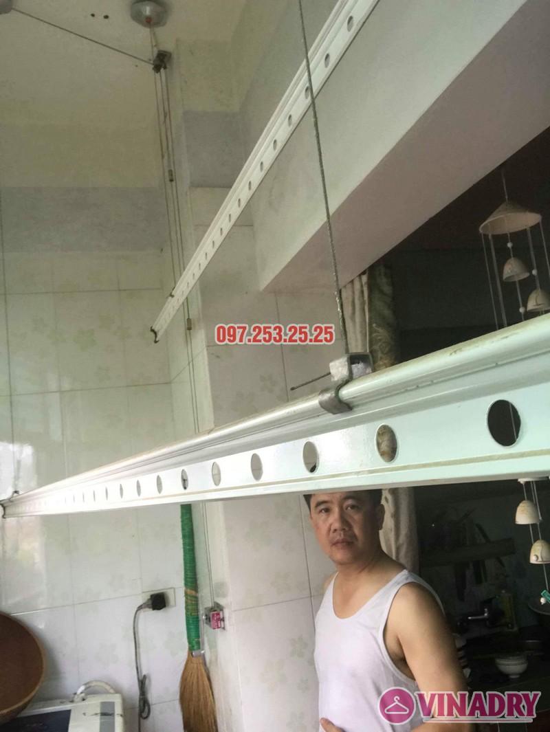 Sửa giàn phơi thông minh tại Hoàng Mai nhà anh Chinh, nhà N6, chung cư Đồng Tàu - 05