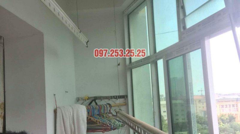 Sửa giàn phơi thông minh tại Hoàng Mai nhà anh Chinh, nhà N6, chung cư Đồng Tàu - 06