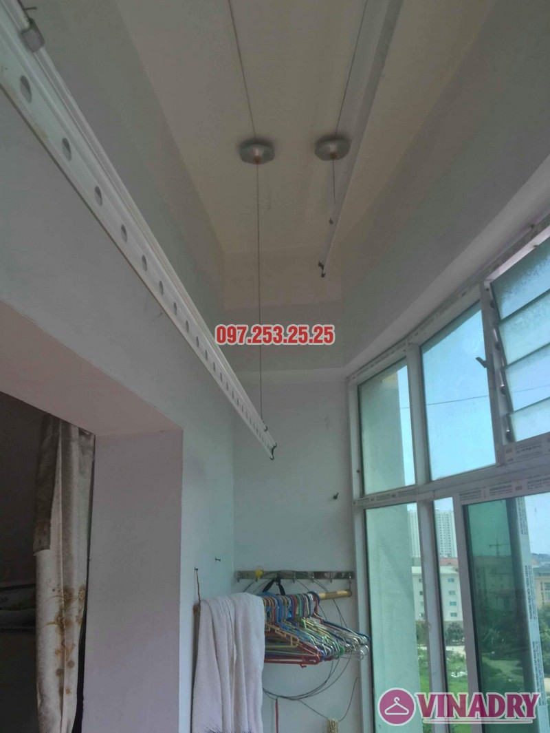 Sửa giàn phơi thông minh tại Hoàng Mai nhà anh Chinh, nhà N6, chung cư Đồng Tàu - 07