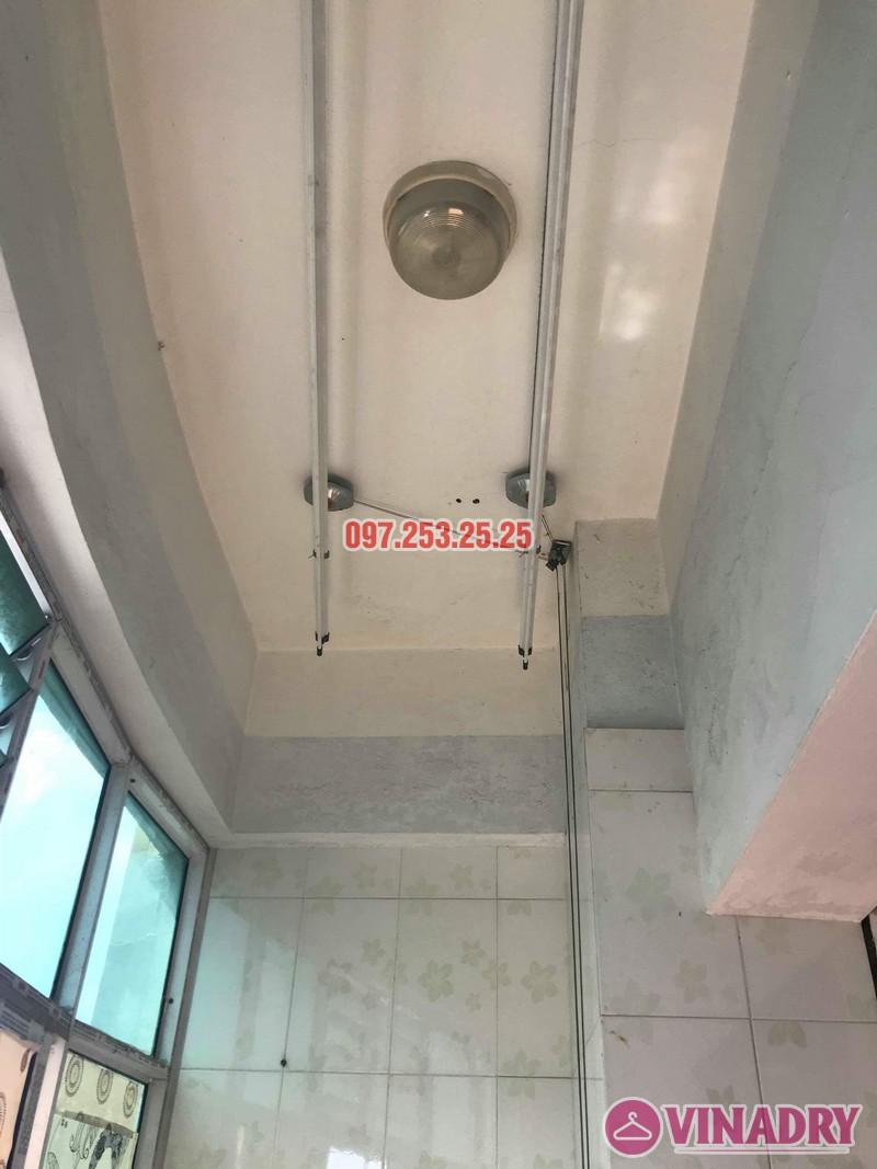 Sửa giàn phơi thông minh tại Hoàng Mai nhà anh Chinh, nhà N6, chung cư Đồng Tàu - 08