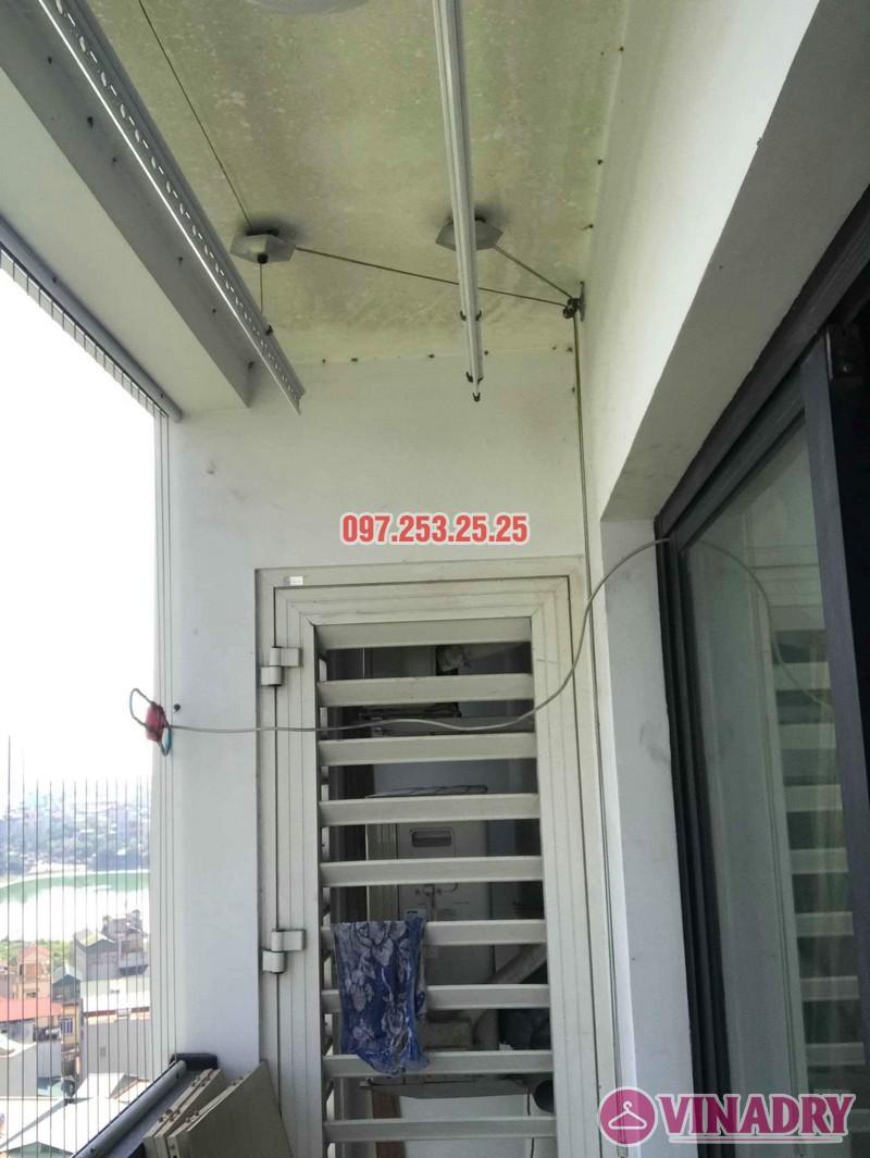 Sửa giàn phơi thông minh giá rẻ nhà chị Thời, Tòa T9 Times City, Hai Bà Trưng, Hà Nội - 01