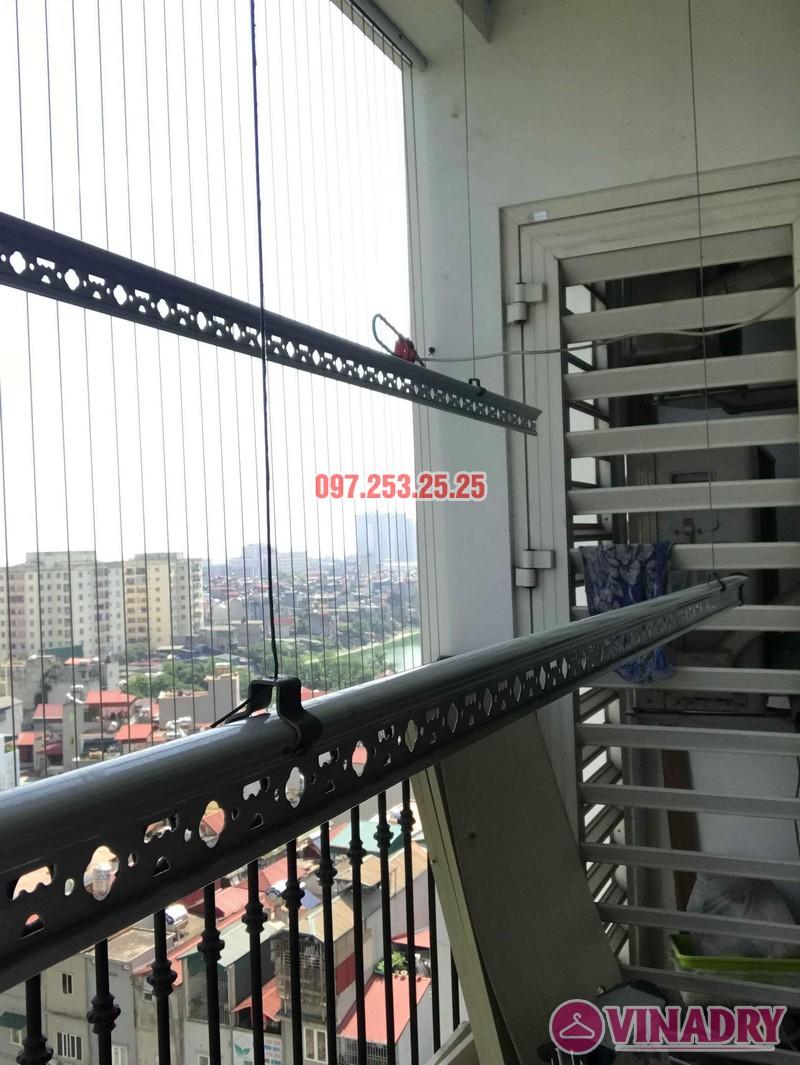 Sửa giàn phơi thông minh giá rẻ nhà chị Thời, Tòa T9 Times City, Hai Bà Trưng, Hà Nội - 06