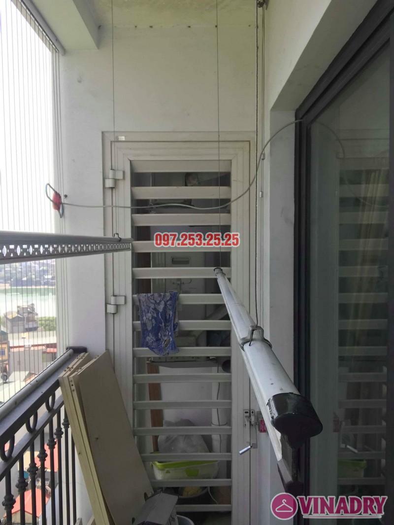 Sửa giàn phơi thông minh giá rẻ nhà chị Thời, Tòa T9 Times City, Hai Bà Trưng, Hà Nội - 07