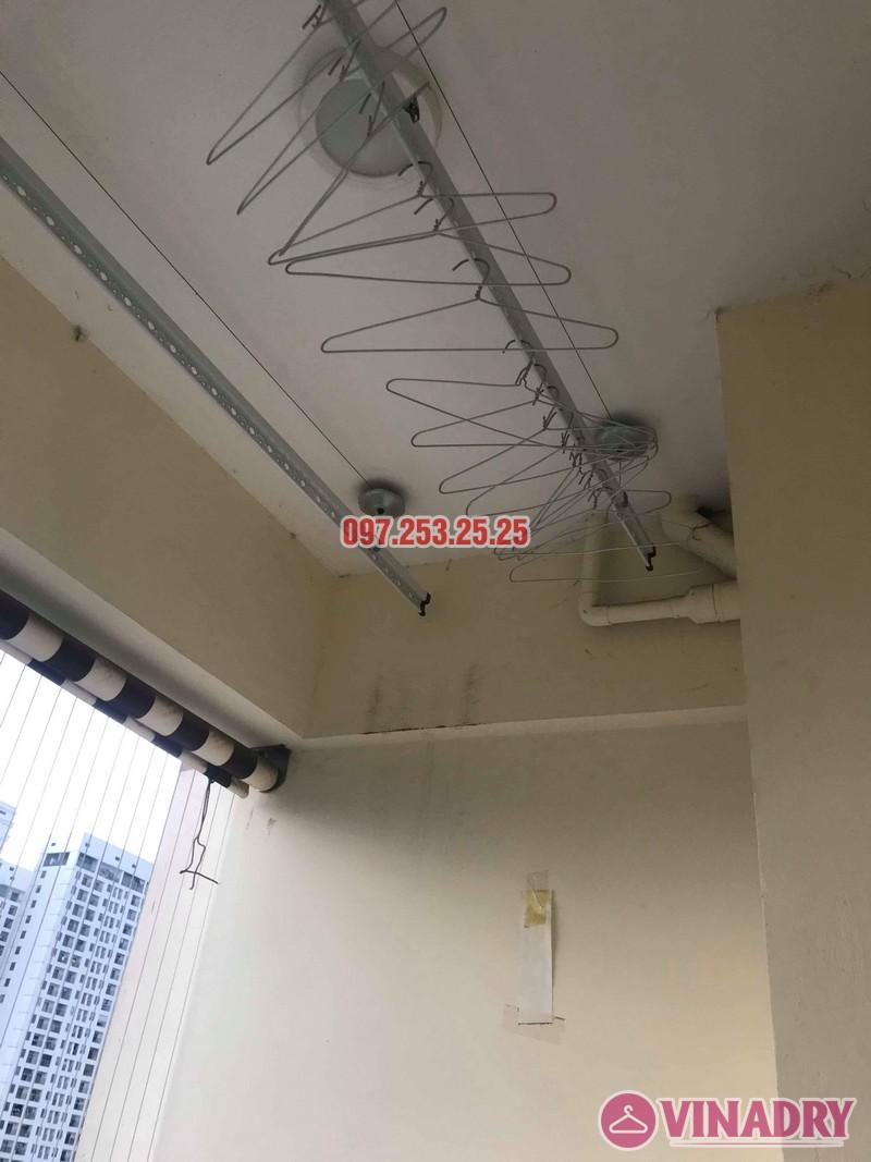 Sửa chữa giàn phơi thông minh tại Cầu giấy nhà chị Nhu, chung cư Thăng Long Tower - 01