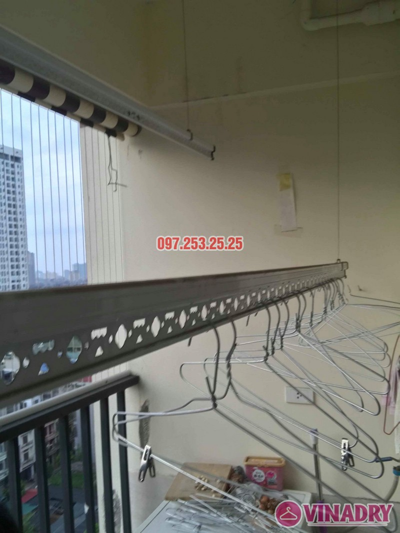 Sửa chữa giàn phơi thông minh tại Cầu giấy nhà chị Nhu, chung cư Thăng Long Tower - 02