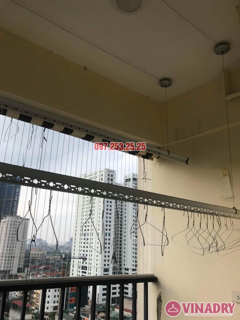 Sửa chữa giàn phơi thông minh tại Cầu giấy nhà chị Nhu, chung cư Thăng Long Tower - 06