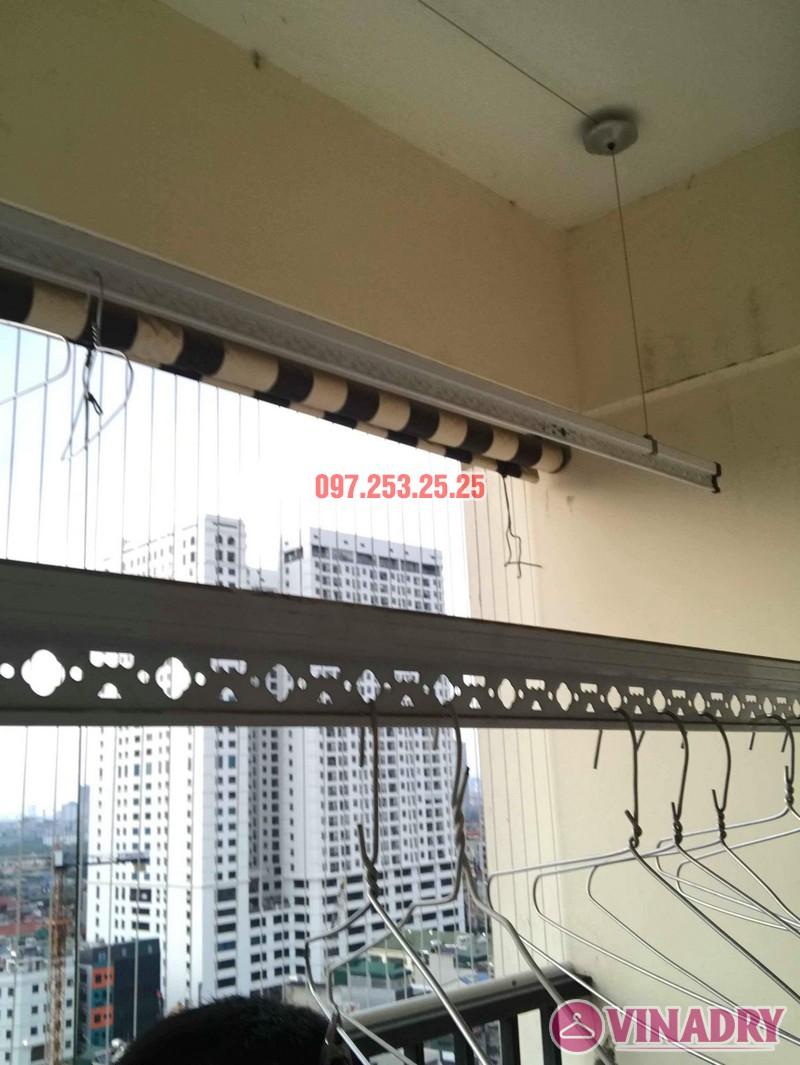 Sửa chữa giàn phơi thông minh tại Cầu giấy nhà chị Nhu, chung cư Thăng Long Tower - 08