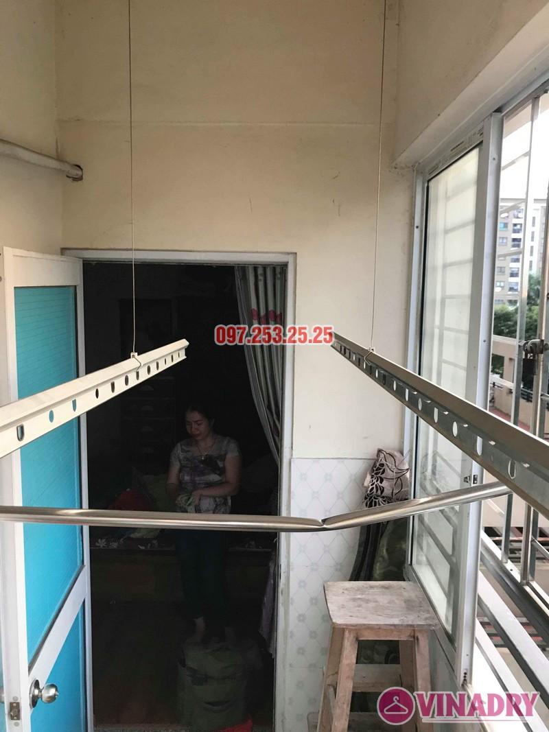 Sửa giàn phơi thông minh tại Gia Lâm, Hà Nội nhà chị Nga, KĐT Đặng Xá - 03