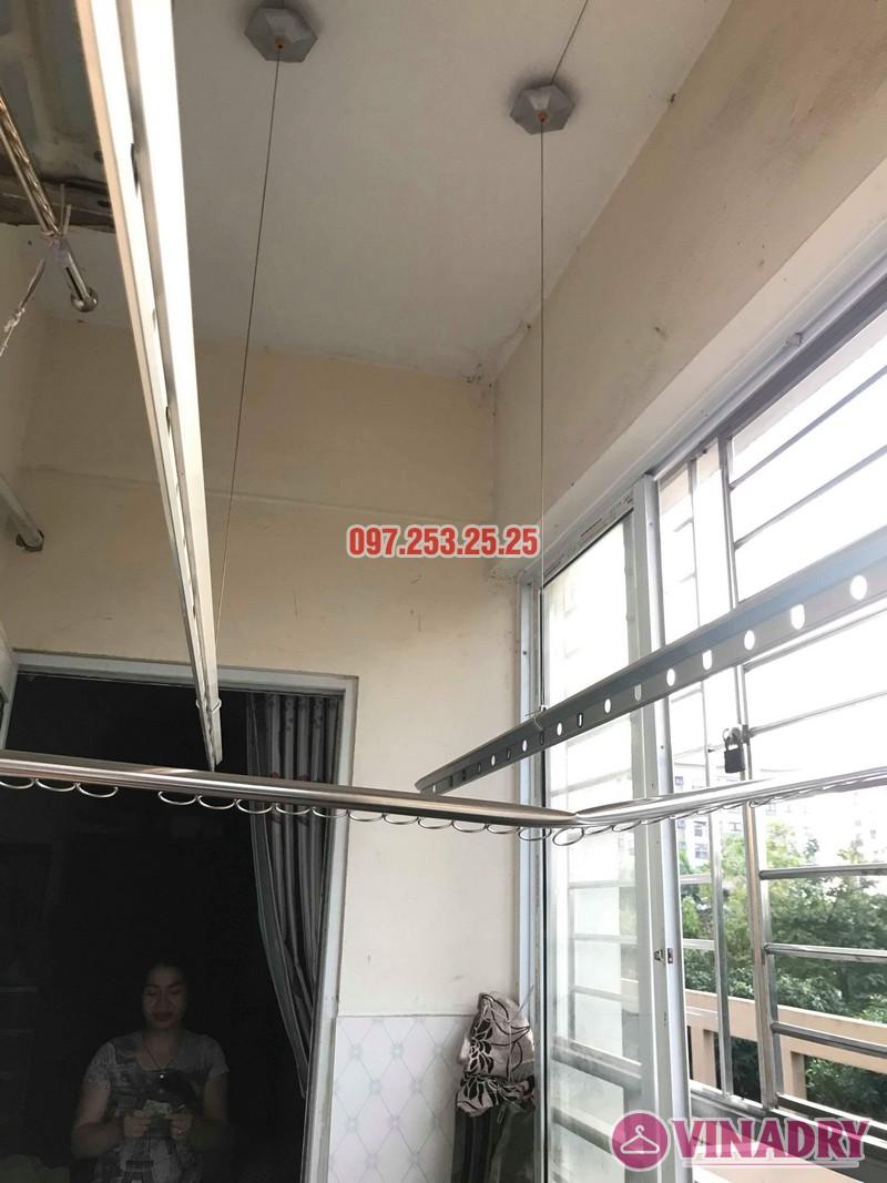 Sửa giàn phơi thông minh tại Gia Lâm, Hà Nội nhà chị Nga, KĐT Đặng Xá - 08