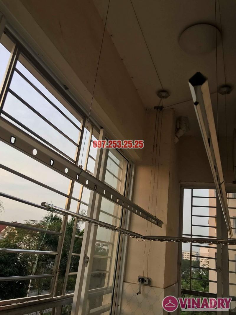 Sửa giàn phơi thông minh tại Gia Lâm, Hà Nội nhà chị Nga, KĐT Đặng Xá - 09