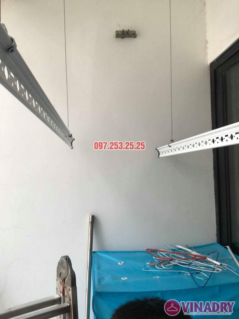 Sửa giàn phơi giá rẻ tại Hà Nội: Sửa giàn phơi nhà chị Thịnh, tòa T2, Times City - 01