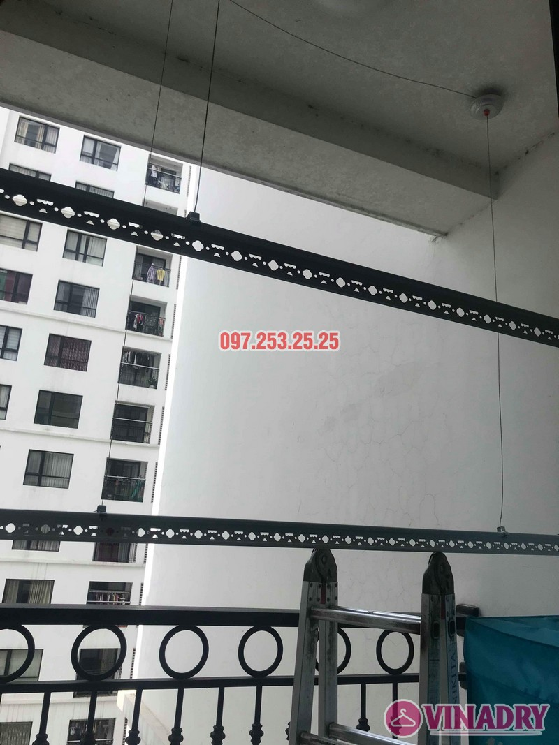 Sửa giàn phơi giá rẻ tại Hà Nội: Sửa giàn phơi nhà chị Thịnh, tòa T2, Times City - 02