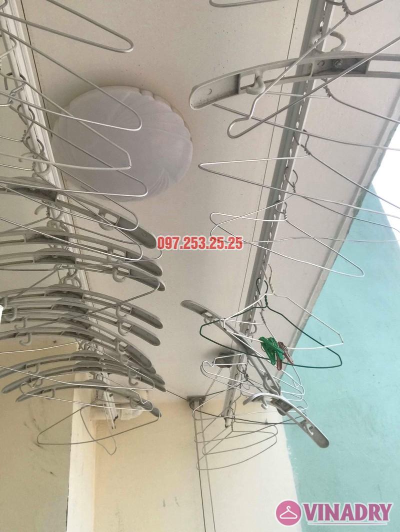 Sửa giàn phơi thông minh Hà Đông nhà chị Nhài, chung cư số 7 Trần Phú - 01