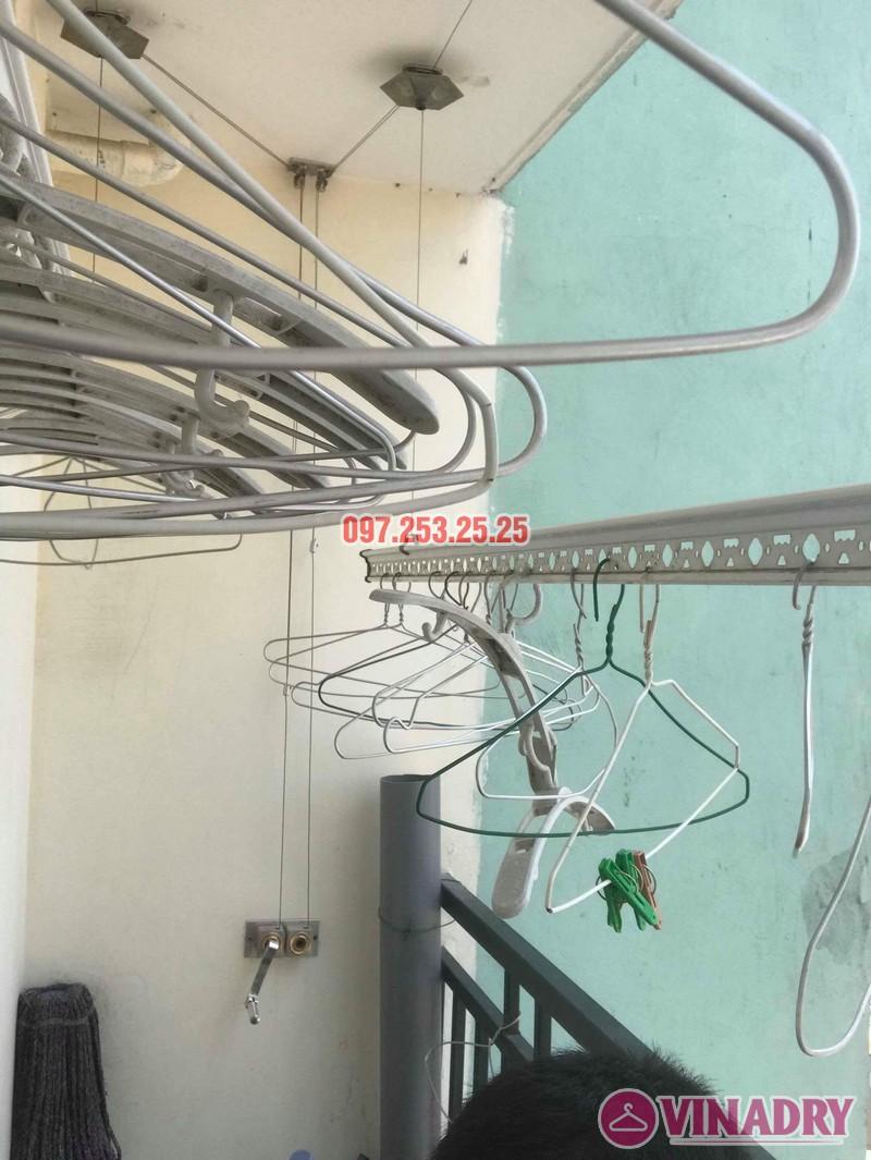Sửa giàn phơi thông minh Hà Đông nhà chị Nhài, chung cư số 7 Trần Phú - 03