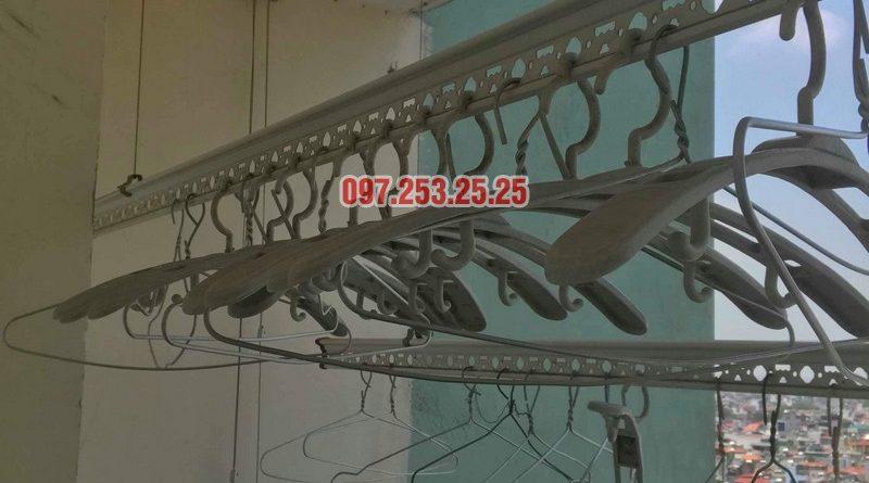 Sửa giàn phơi thông minh Hà Đông nhà chị Nhài, chung cư số 7 Trần Phú - 05