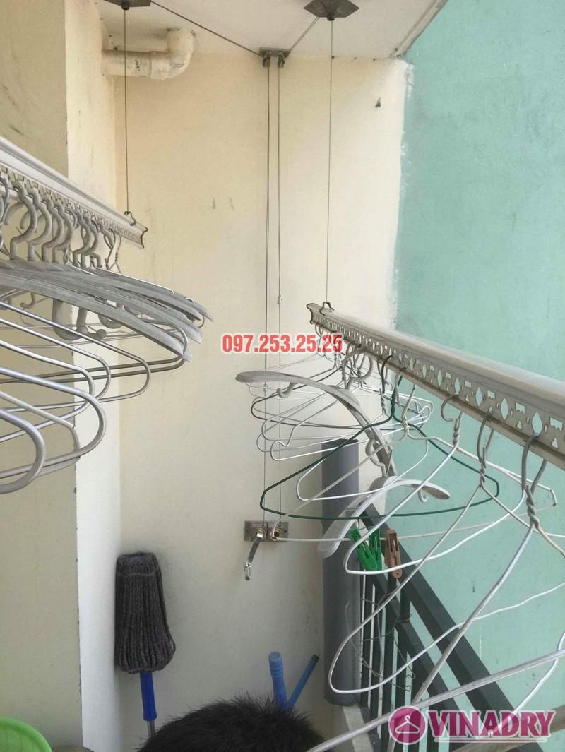Sửa giàn phơi thông minh Hà Đông nhà chị Nhài, chung cư số 7 Trần Phú - 07