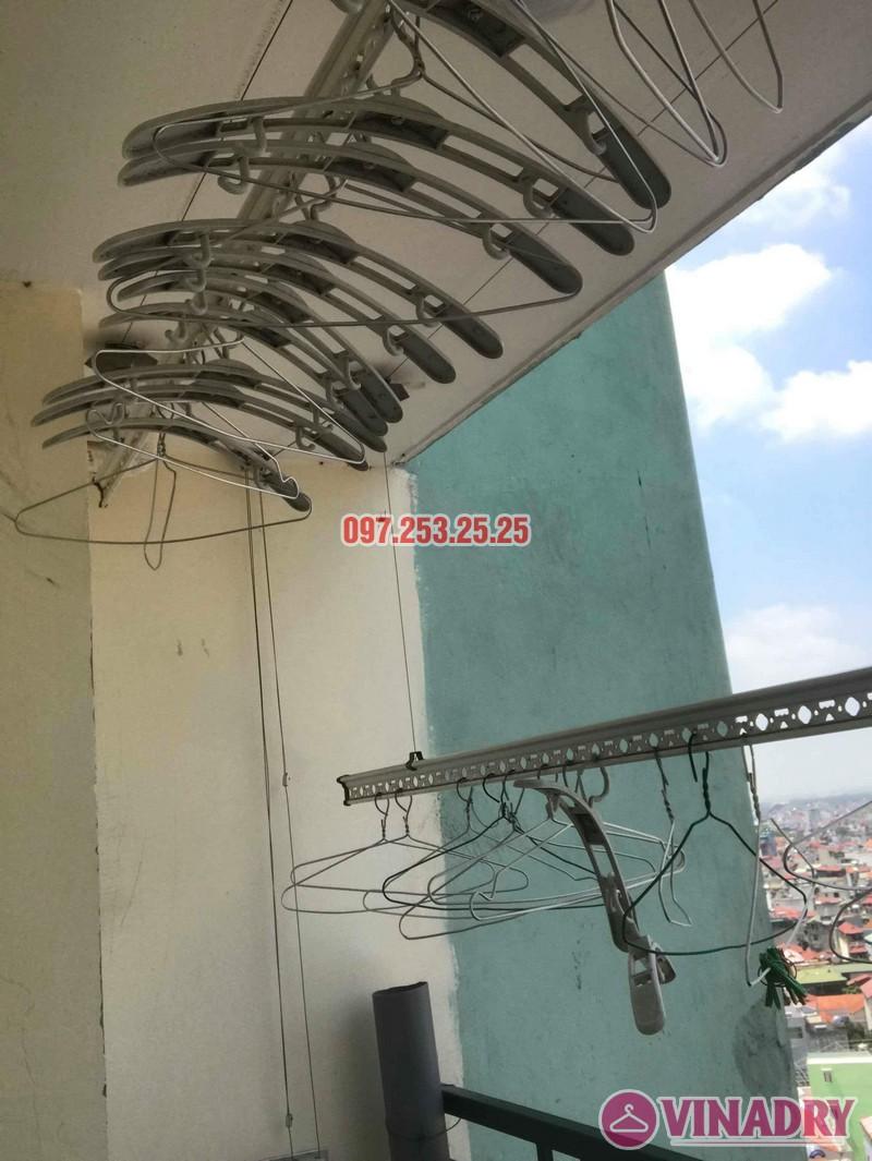 Sửa giàn phơi thông minh Hà Đông nhà chị Nhài, chung cư số 7 Trần Phú - 08