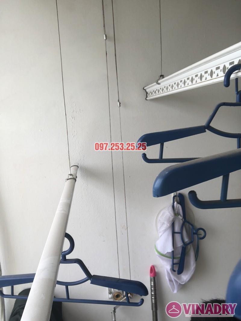 Sửa giàn phơi thông minh nhà chị Miên, căn 1501, CTA khu nhà ở Trung Văn, Nam Từ Liêm - 02