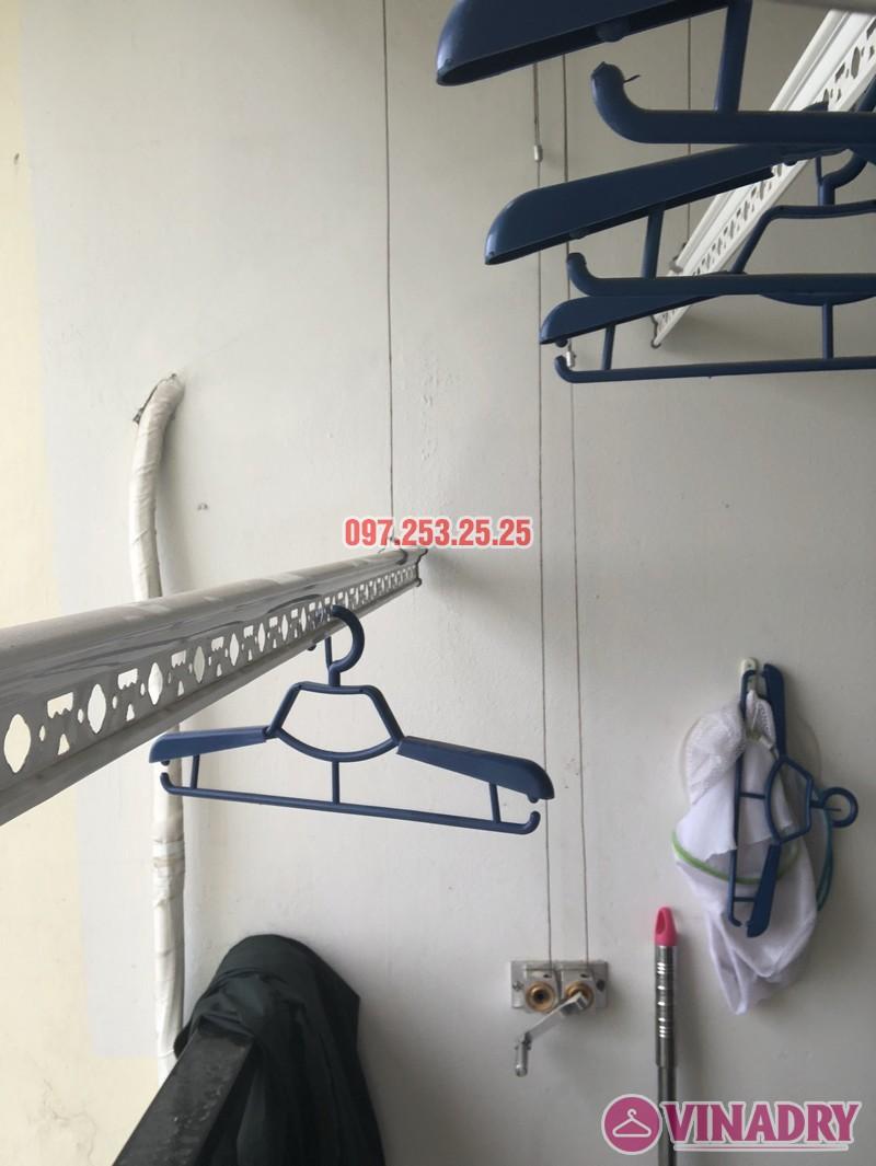 Sửa giàn phơi thông minh nhà chị Miên, căn 1501, CTA khu nhà ở Trung Văn, Nam Từ Liêm - 04