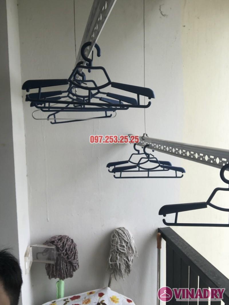 Sửa giàn phơi thông minh nhà chị Miên, căn 1501, CTA khu nhà ở Trung Văn, Nam Từ Liêm - 05