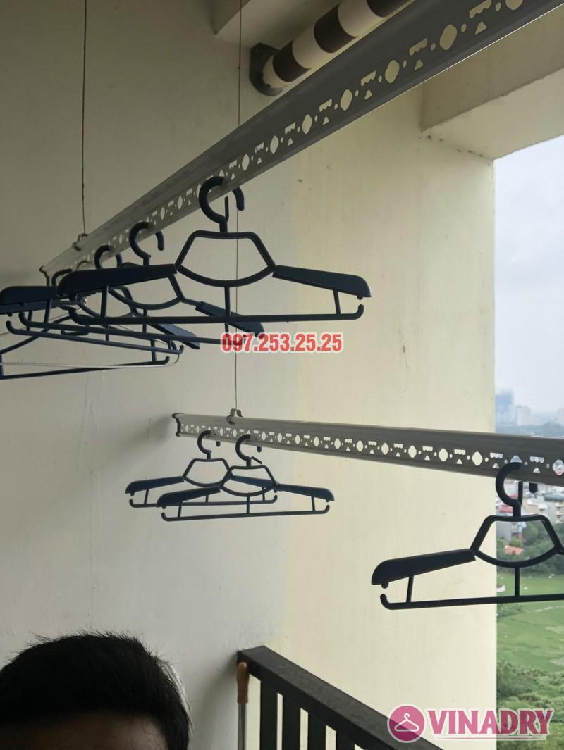 Sửa giàn phơi thông minh nhà chị Miên, căn 1501, CTA khu nhà ở Trung Văn, Nam Từ Liêm - 06