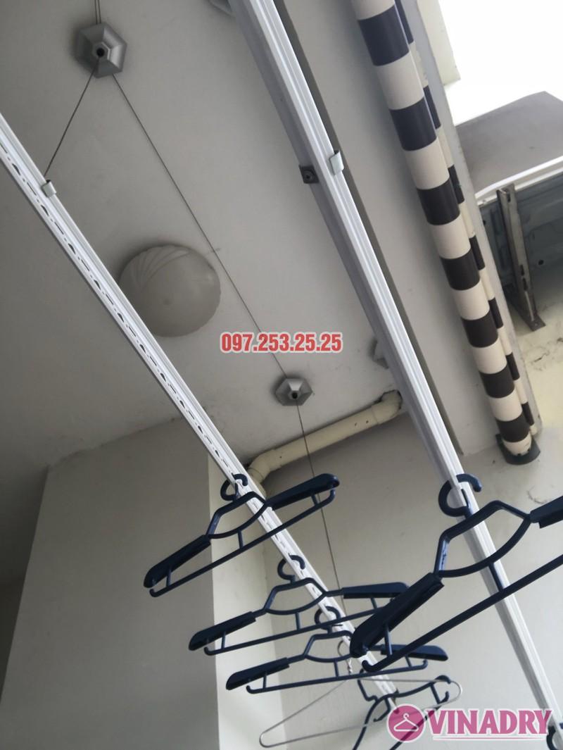 Sửa giàn phơi thông minh nhà chị Miên, căn 1501, CTA khu nhà ở Trung Văn, Nam Từ Liêm - 08