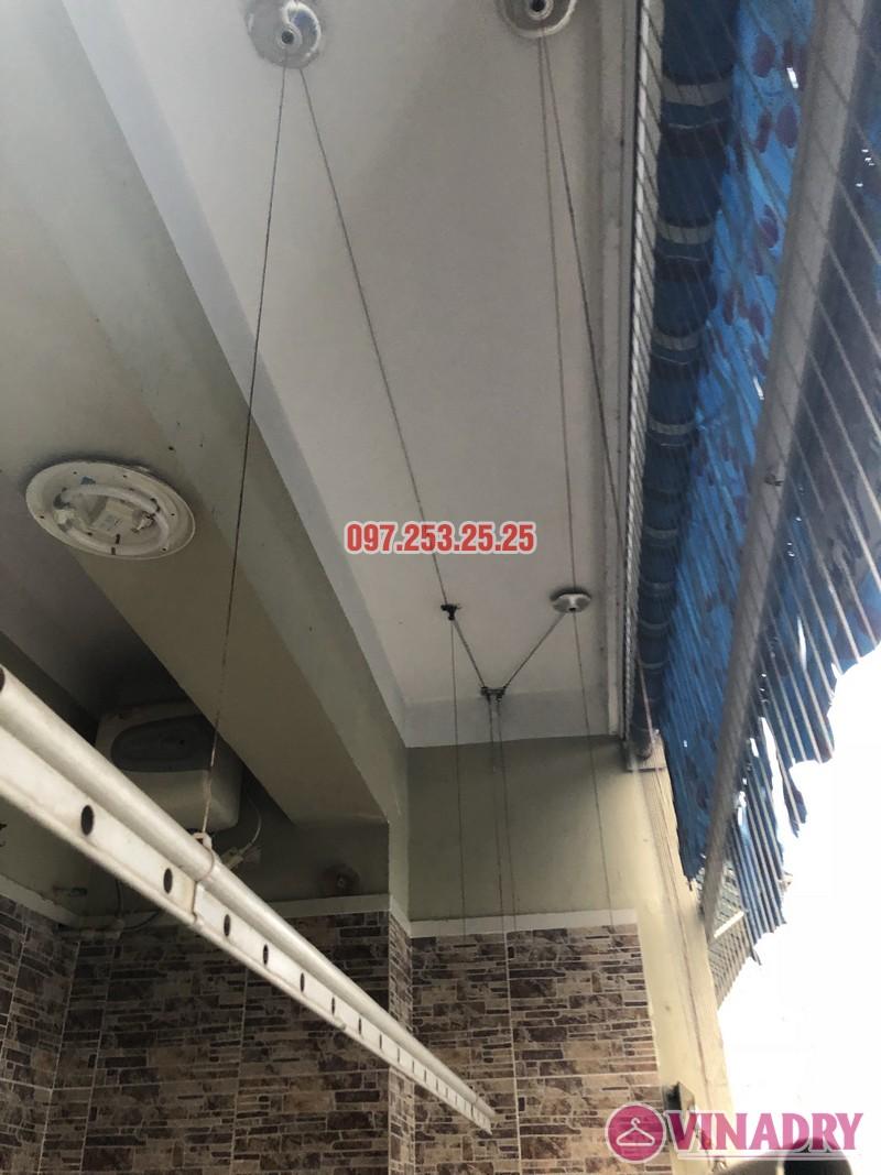 Sửa giàn phơi quần áo nhà chị Thiêm, căn 616, chung cư CT20E, KĐT Việt Hưng - 04