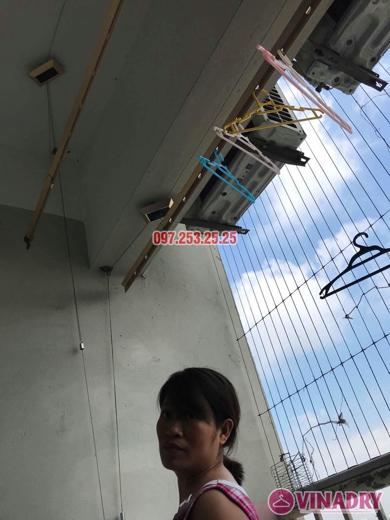 Sửa giàn phơi Hà Đông nhà chị Thanh, chung cư CT6, KĐT Xala - 03
