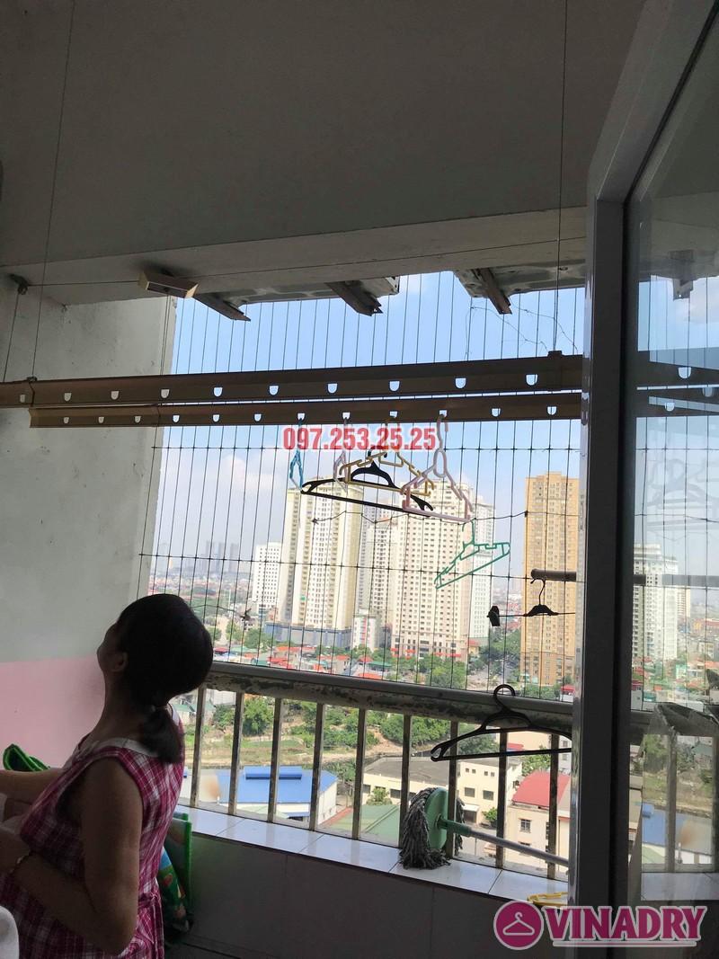 Sửa giàn phơi Hà Đông nhà chị Thanh, chung cư CT6, KĐT Xala - 04