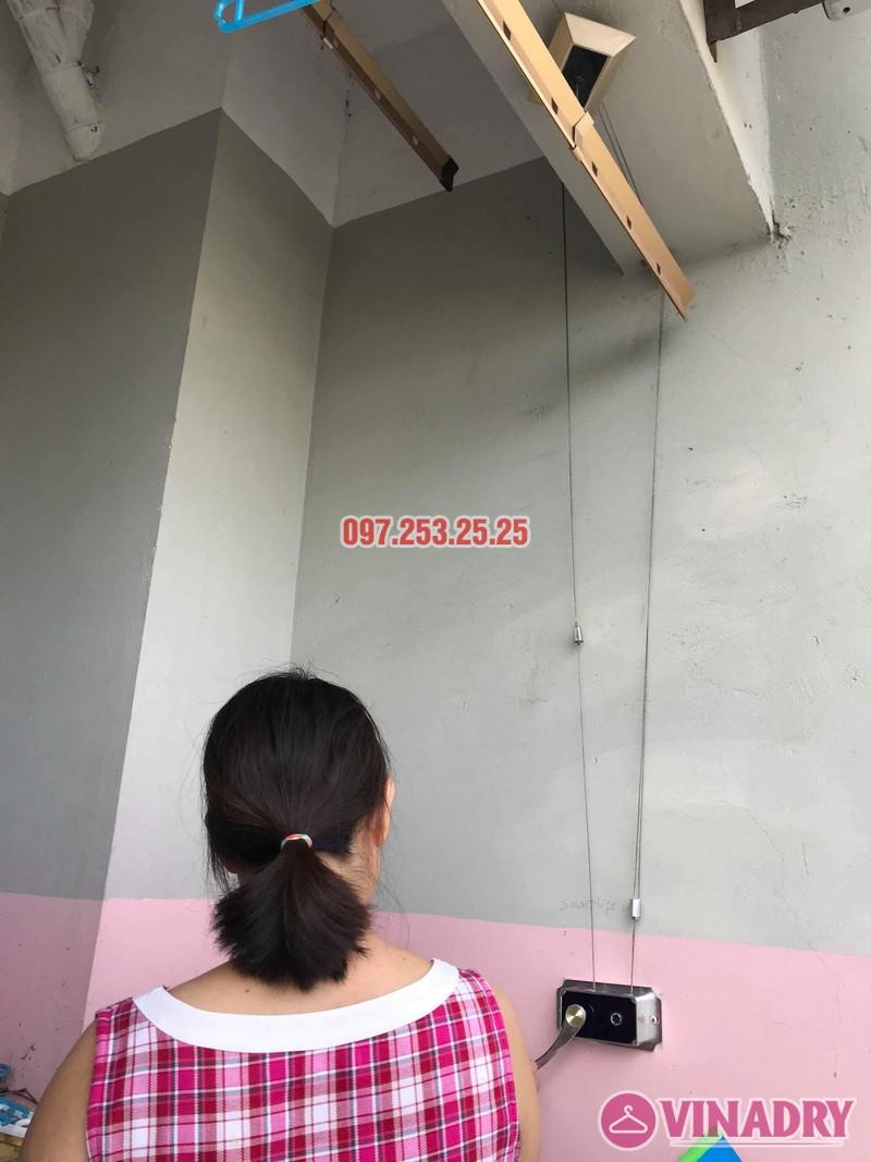 Sửa giàn phơi Hà Đông nhà chị Thanh, chung cư CT6, KĐT Xala - 05