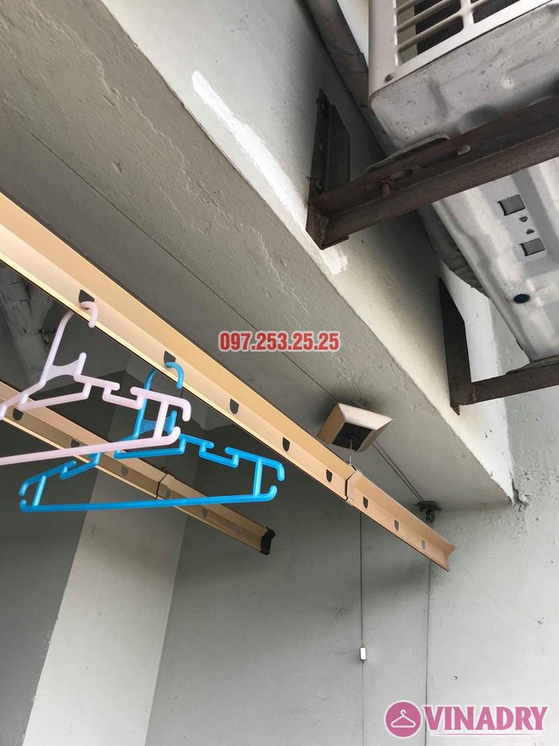 Sửa giàn phơi Hà Đông nhà chị Thanh, chung cư CT6, KĐT Xala - 06