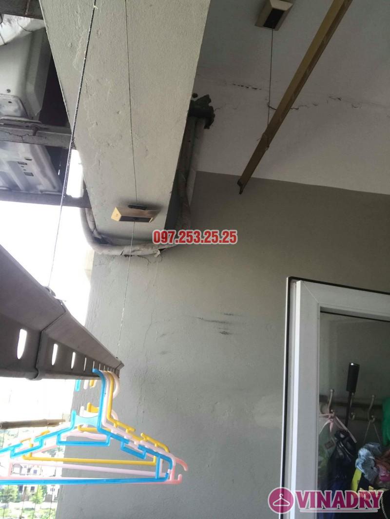 Sửa giàn phơi Hà Đông nhà chị Thanh, chung cư CT6, KĐT Xala - 07